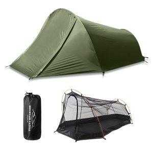 Army green tent