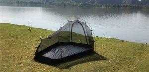 Inner mesh 2 person tunnel tent used on it's own