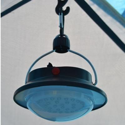Lantern hook in tent