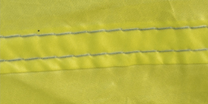 quality stitched tent seams with silicon tape