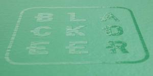 20D Nylon top layer with anti slip silicon logo