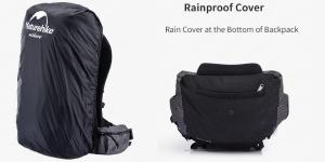 40L Ultralight Backpack raincover pocket