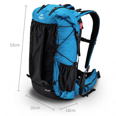 Naturehike 45L backpack Dimensions