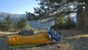 Enevelop sleeping bag mode