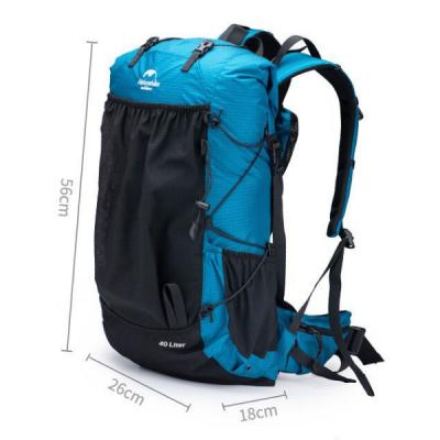 Naturehike 65L pack dimensions BLUE