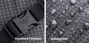 Waterproof fabric and donfoford fasteners 40L