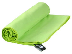 ultralight microfibre towel for hiking