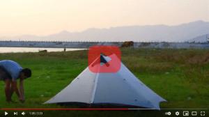 3F UL Gear Lanshan 2 Pro Setup Video Preview Image 2