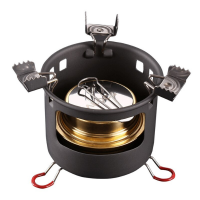 ALOCS Alcohol Stove with Windshield 200 grams