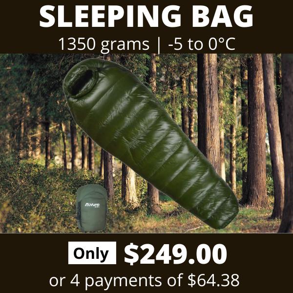 Instagram Vuno Army G Winter Sleeping Bags