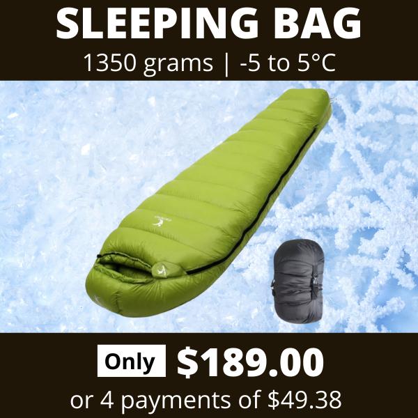 Sleeping Bag PD800 189 4 payments