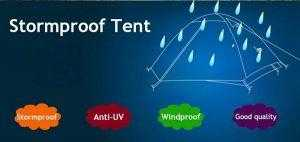 Stormproof 2 Person Camping Tent