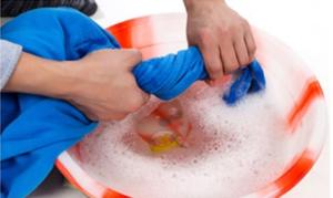 Hand washing liner