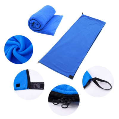 sleeping bag liner blue (1)